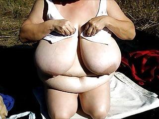 Bbw Milf Homemade video: cute girl huge boobs 40LLs 101