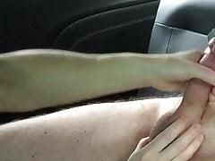 Frau Auto wichsen