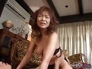 Mom video: Japanese Mom and NOT her Son -Part 4- unsencored