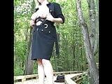 Slave kitten outdoor