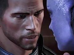 Mass Effect 3 Alle Romanze Sexszenen Männlich Shepard