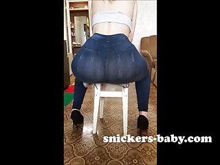 Big ass teen big tits beautiful porn Black leggings jeans