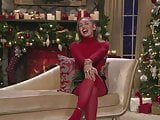 Mikey Cyrus in red pantyhose PT.1