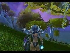 Warcraft: Keyla e i suoi amici elfi.