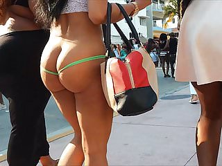 Amateur Public Nudity Voyeur video: She Wanted To Go Bottomless (ALMOST)