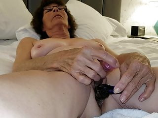 Mature Granny  Masturbating with Anal