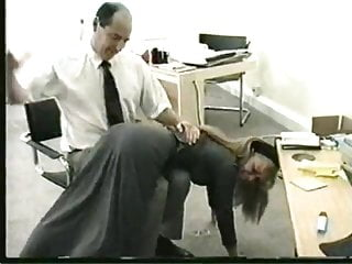 Spanking Big Tits Big Ass video: Bad day at the office
