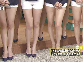 少女時代非常美麗的雙腿