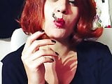 smoking and Red Hair