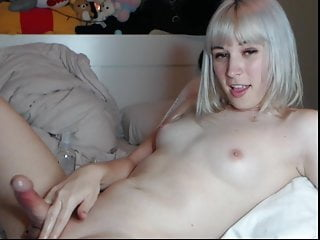 Masturbation Shemale Hd Videos Small Tits Shemale video: Cute blonde Femboy with natural Tits