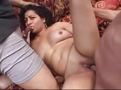 Amateur - Indian Reife Bareback Dreier MMF