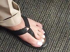 Sexy piedi domenicani al mio lavoro!