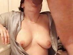 Dirty Slag Nurse Slurps On A Big Fat Dick