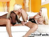 Nikita and Britney fuck each other