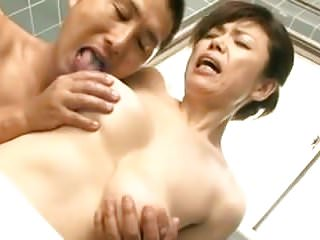 Oldyoung Japanese Mom video: Mature loves young
