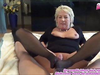 Amateur Milf Mature video: German old mature housewife near granny make userdate