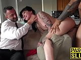 Perfect babe Charlotte Sartre destroyed as Pascals subslut