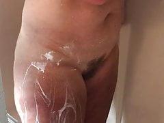 Moglie doccia da barba
