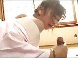 perfect japanese handjob