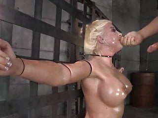 Bdsm Blonde Blowjob video: male order blowjob bride