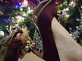 xHamster Lady L high heels 12: Happy new year !