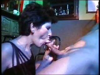 Hairy Milf video: Granny Terezka fuck in bar