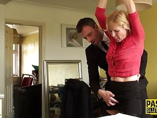 Bdsm Hd Videos video: Mature submissive throats
