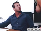 Amateur Handjobs Pornstars video: DigitalPlayground - Chad White Jesse Jane - Horny Housewife