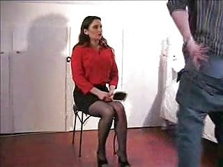 Jasmine Over The Knee Spanking