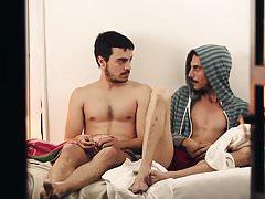 Hot argentinští sportovní muži visí kolem nahý (2016)