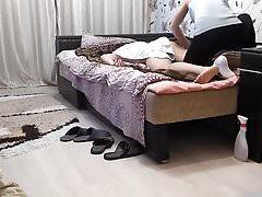Therapeut gibt eine echte Massage