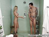 Hot blonde Blake Morgan shows Alex Legend her sex skills
