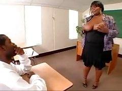 Big Black Booty Teacher Ms.Thunder Katt