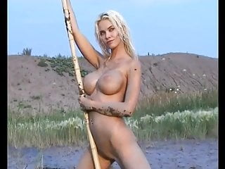 Naughty Babe Loves Dirty Mud