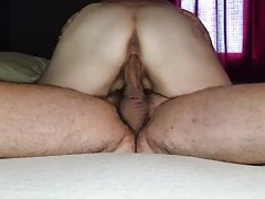 Sexy BBW Fucks Big Dick i dostaje mokre