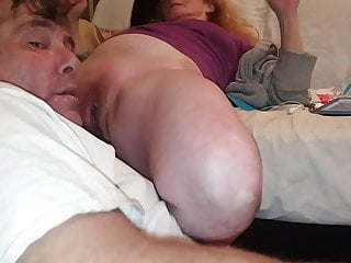 Hairy Wet movie: tammy gets her wet swollen pussy sucked till she cums