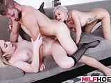 Drilled Stepmother Is A Camgirl Too