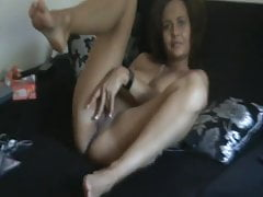 My naughty young Ex caught playing with herself