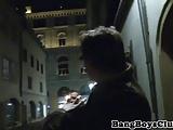 Dicksucking euro stud seduced by mature guy