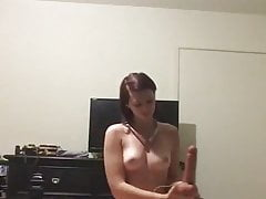 Hot Nubile Tasty Culo Pulverizing Thick Fake Penis To Orgasm