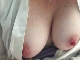 Babes Public Nudity Boobs video: Busty Babe Flashing Her Boobs At Home 51