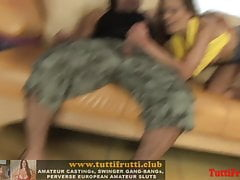 Euromutter Naughty Annie bei meinem Porno Casting
