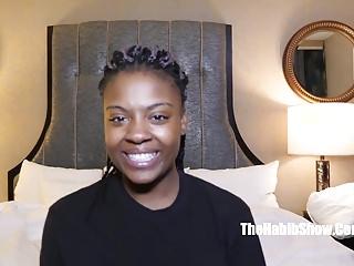 Black And Ebony Amateur porno: sexy newbie ebony lashay fucked by nasty paki
