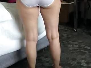 Wife Cougars Panties video: Lingerie bra panties thong thighs
