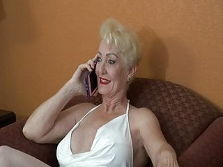 Blonde Milf Mature video: Mature Blonde And her Black Bull.