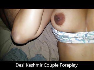 业余年轻DESI克什米尔夫妇湿毛茸茸的猫舔
