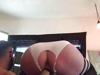 Bbw Stockings Brunette video: Curvy woman in stockings gets her pussy and ass fisted
