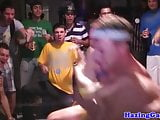 Wrestling college twinks go gay at hazing