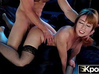 Teen Big Ass Redhead video: 5KPorn - Sexy Redhead Daphne Dare Creampied