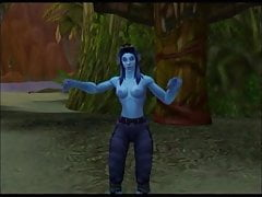 Warcraft Troll Strip Dance